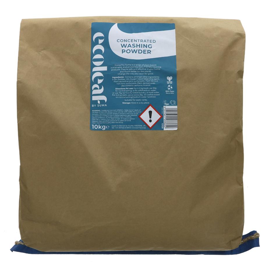 Ecoleaf Concentrated Washing Powder - 10kg