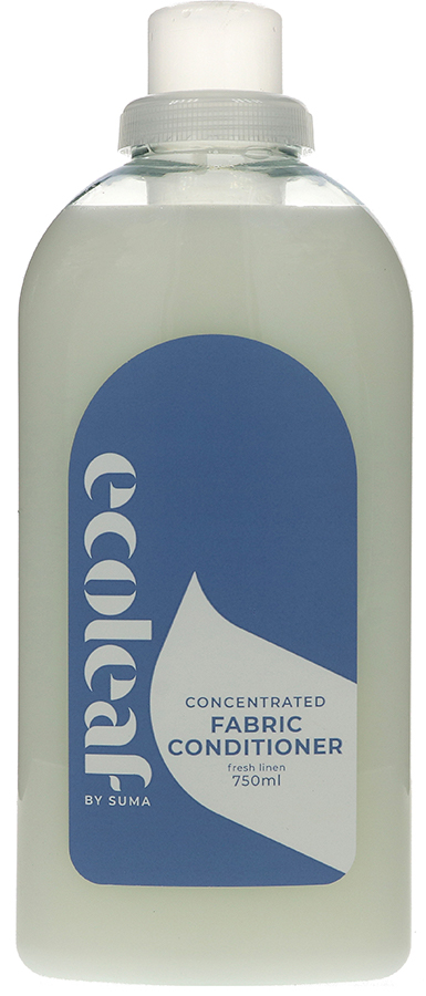Ecoleaf Concentrated Fabric Conditioner - Fresh Linen - 750ml - 17 Washes