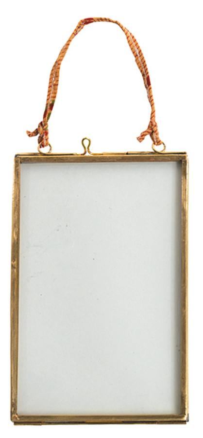 Kiko Glass Brass Frame - 4x6 - Portrait