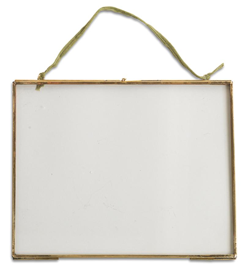 Kiko Glass Brass Frame - 8x10 - Landscape