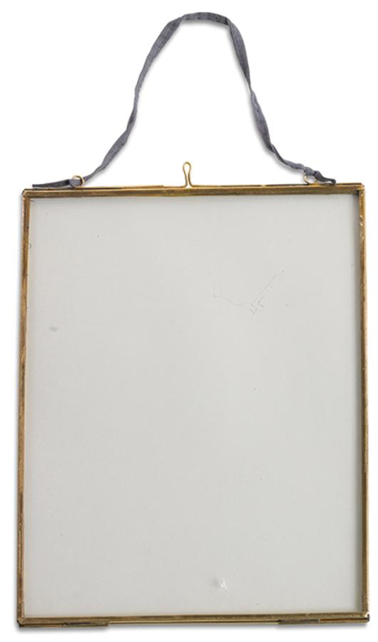 Kiko Glass Brass Frame - 8x10 - Portrait
