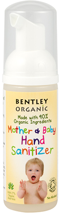 Image of Bentley Organic Natural Mother and Baby Hand Sanitizer - 50ml