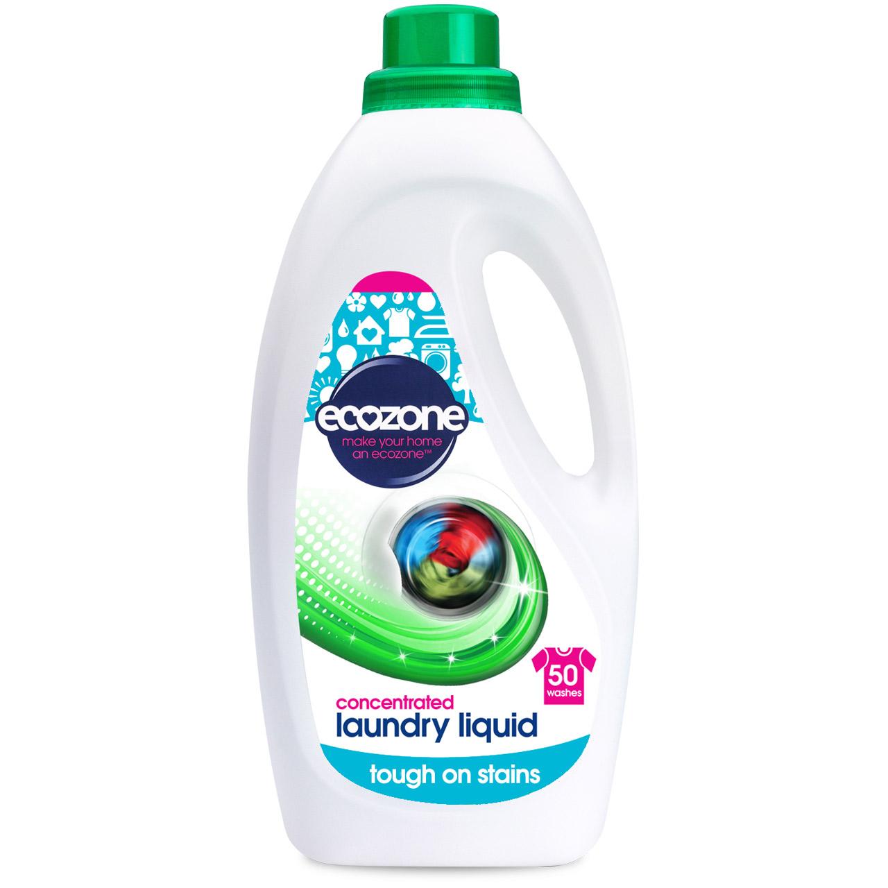 Ecozone Bio Concentrated Laundry Liquid - 2L - 50 Washes