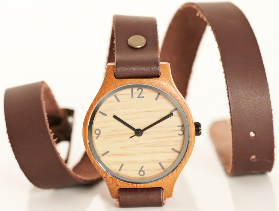 how to put on a wrap around watch