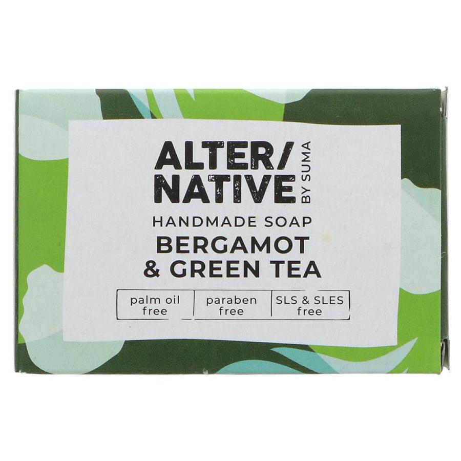 Alternative by Suma Handmade Soap - Bergamot & Green Tea - 95g