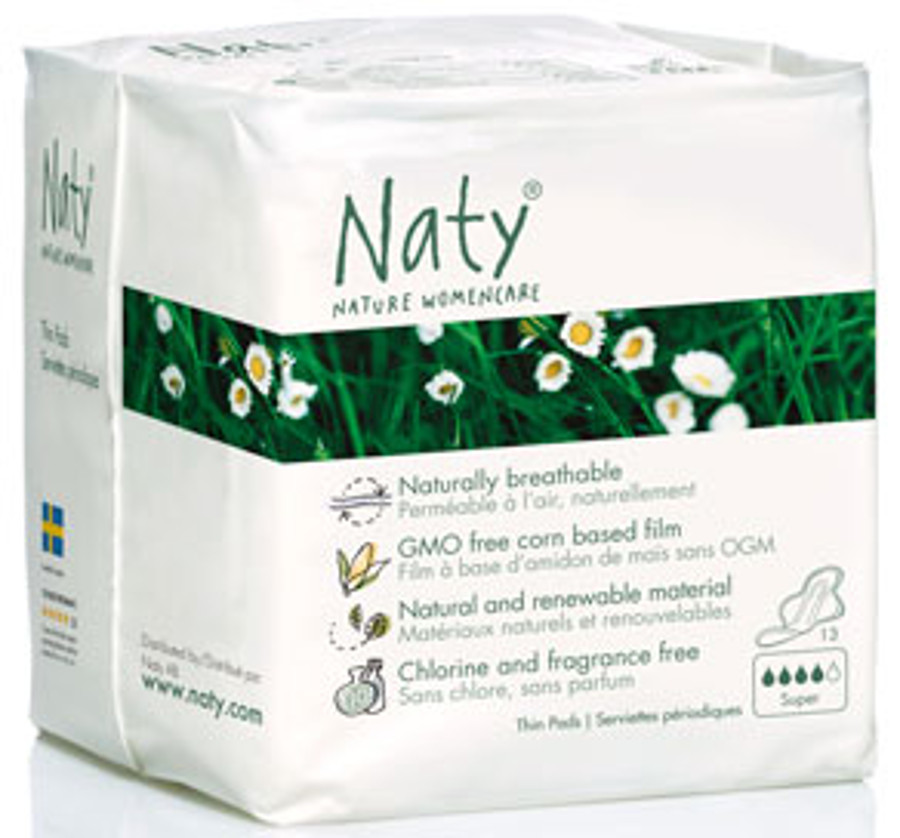 Naty by Nature Womencare Sanitary Towel  Normal Plus  Pack of 13