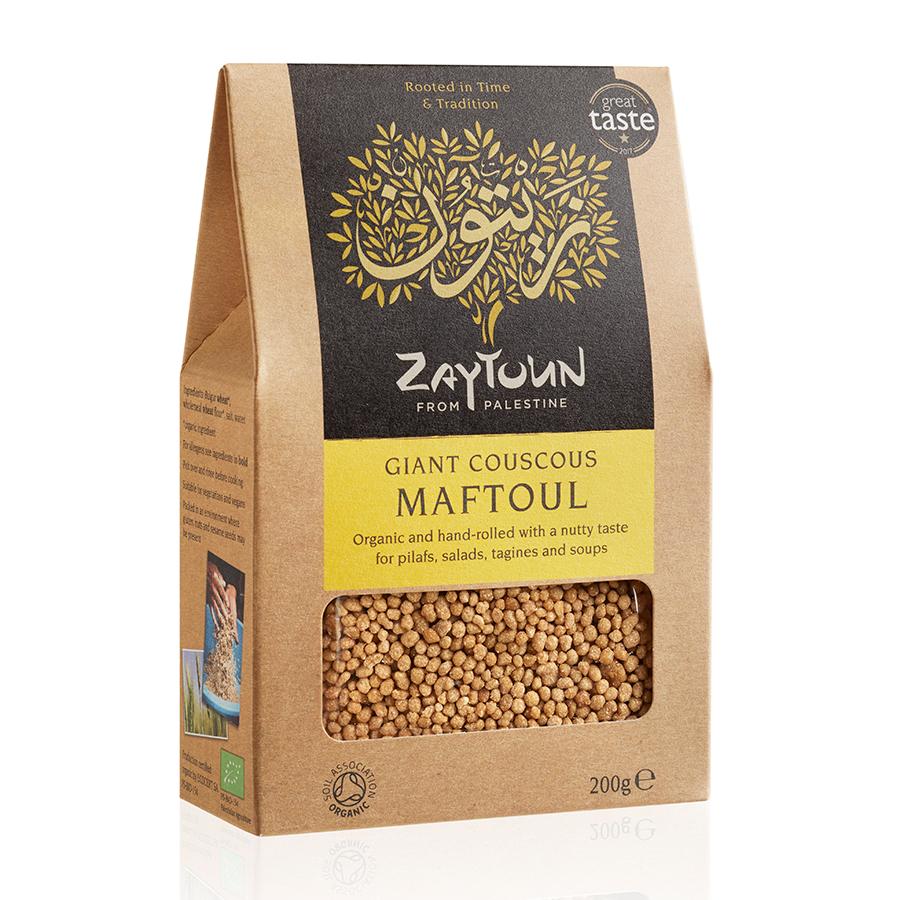 Zaytoun Palestinian Hand-Rolled Maftoul Couscous - 200g