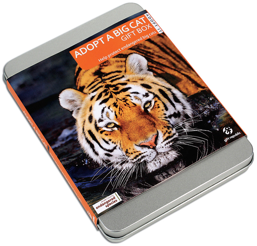 Image of Adopt a Big Cat Gift Pack