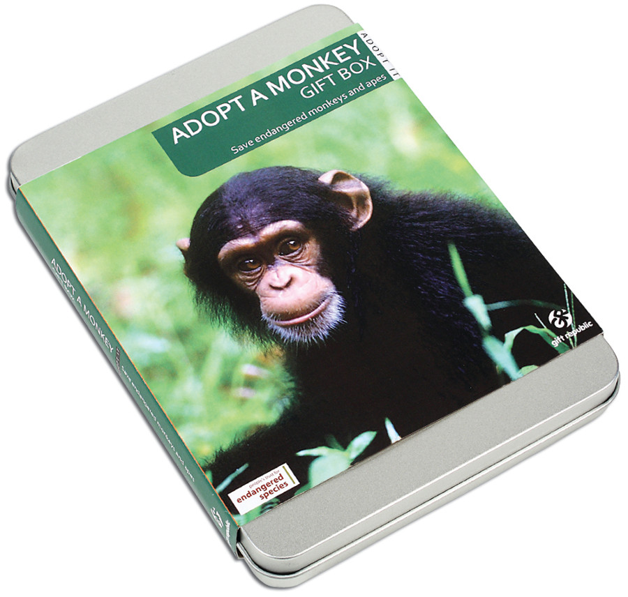 Adopt a Monkey Gift Pack