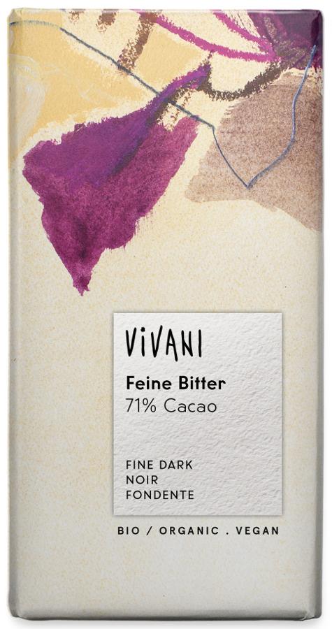 Vivani Organic 71% Dark Chocolate - 100g