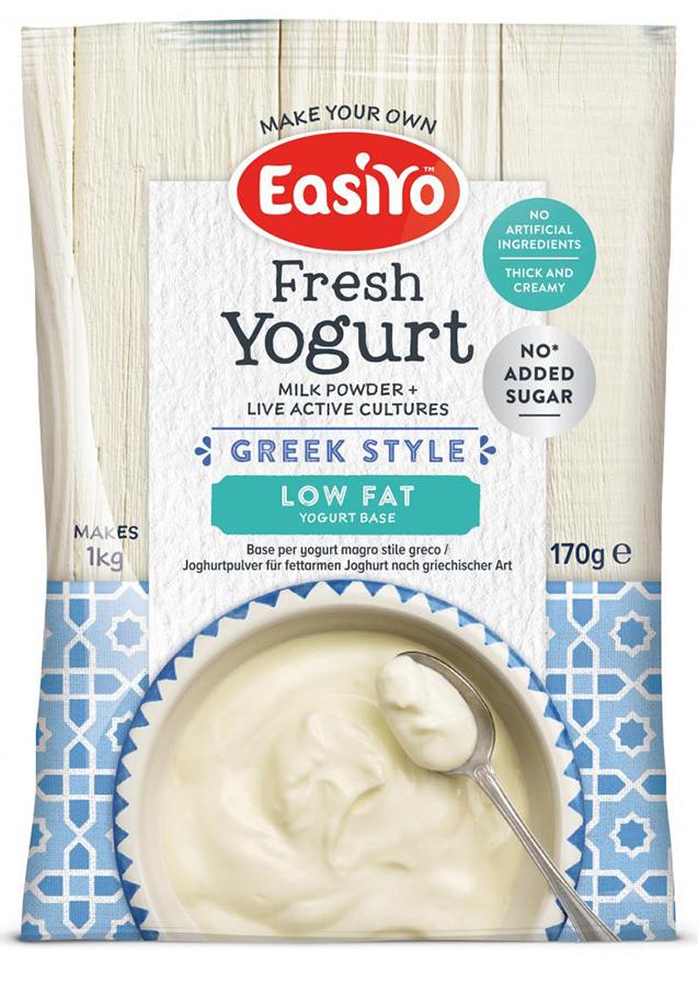 EasiYo Low Fat Greek Yoghurt - 170g