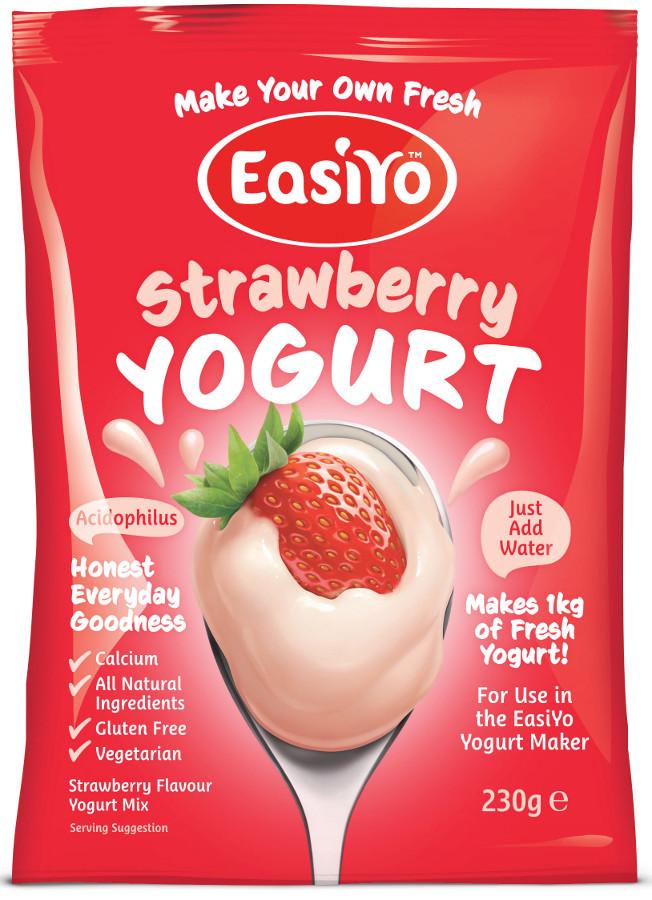 EasiYo Strawberry Yoghurt - 230g