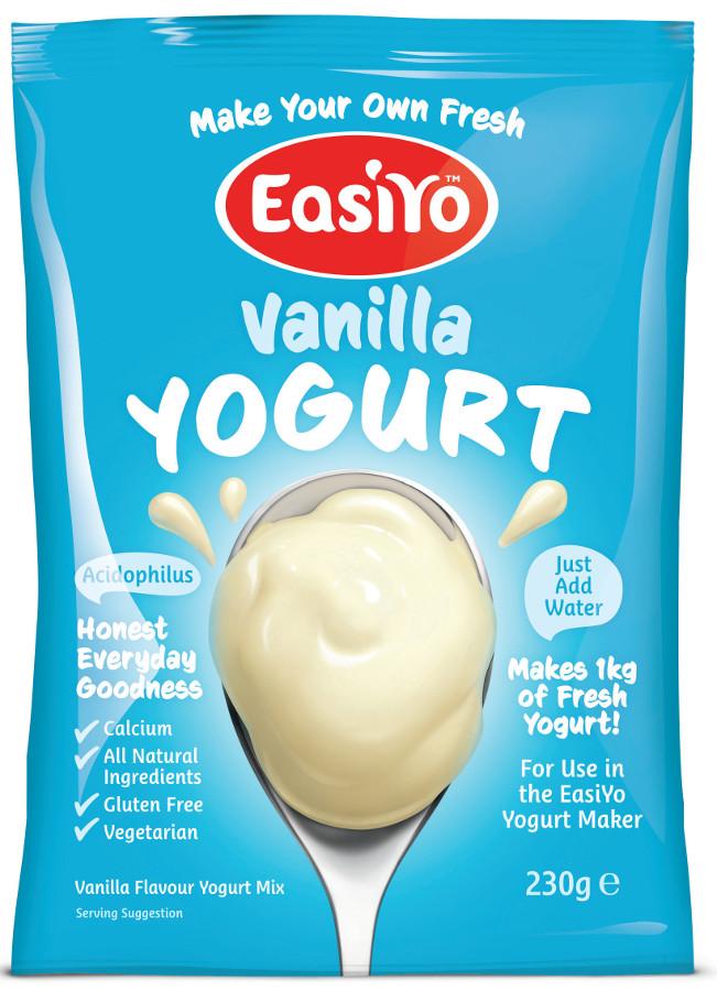 EasiYo Vanilla Yoghurt - 230g