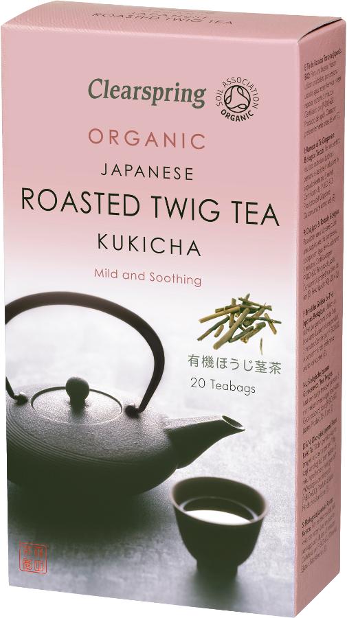 Clearspring Kukicha Japanese Roasted Twig Tea - 20 Bags