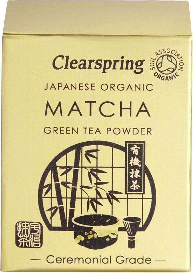 Clearspring Matcha Tea Ceremonial Tin - 30g