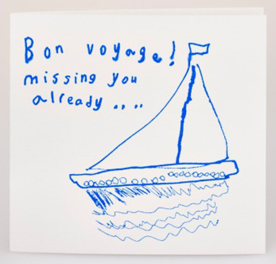 Image of Arthouse Meath Charity Bon Voyage Card