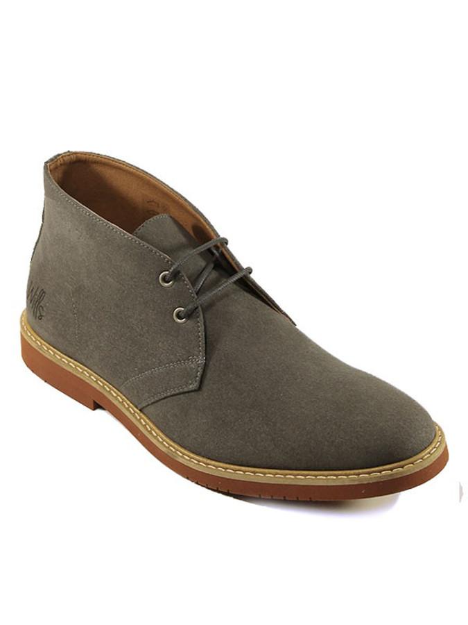wills mens vegan desert boots grey wills