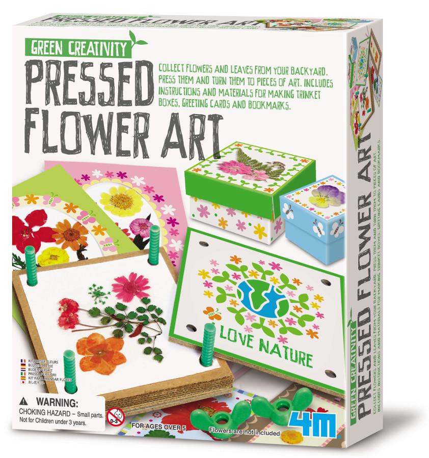 Green Creativity Pressed Flower Art