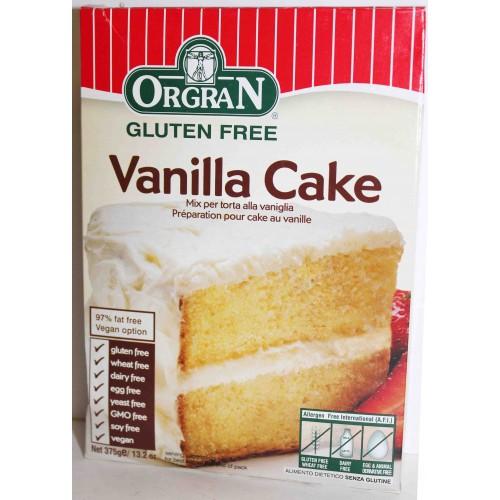 Orgran Vanilla Cake Mix - 375g