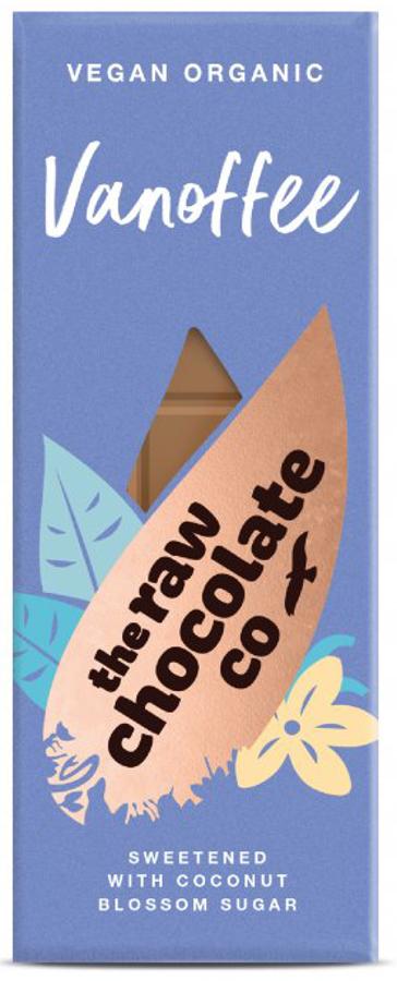 The Raw Chocolate Co Vanoffe Chocolate Bar - 38g