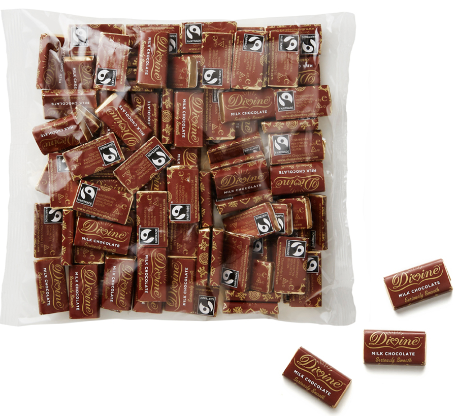 Chocolate Biscuit Bar Pillow Case