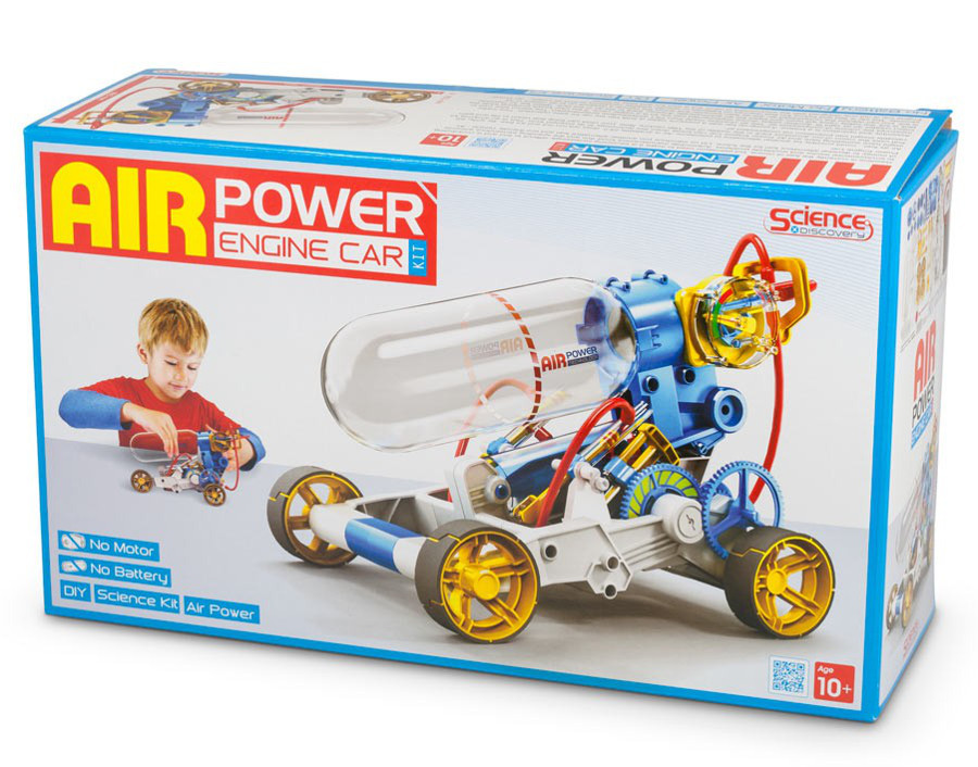 Air Powered Car Kit