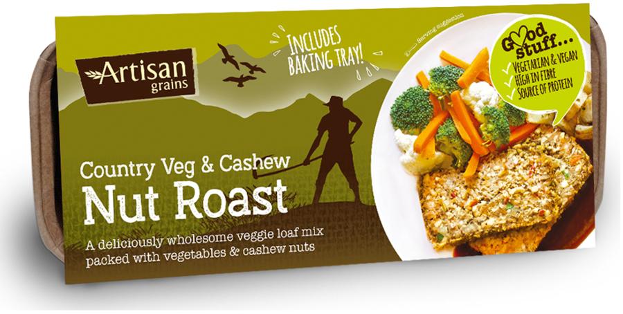 Artisan Grains Nut Roast - Country Veg & Cashew 200g