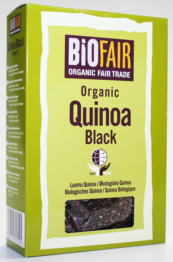 Biofair Organic Black Quinoa Grain - Fair Trade - 400g