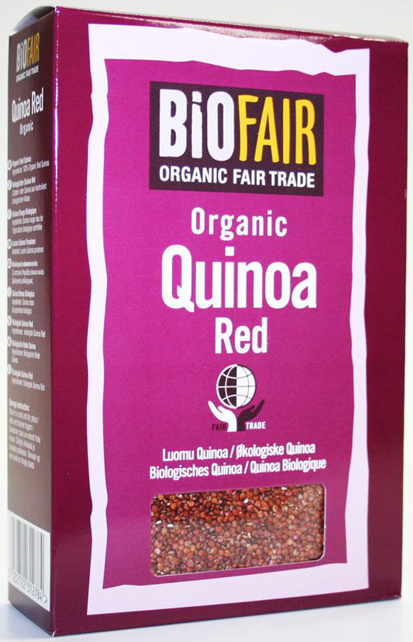 Biofair Organic Red Quinoa Grain - Fair Trade 500g