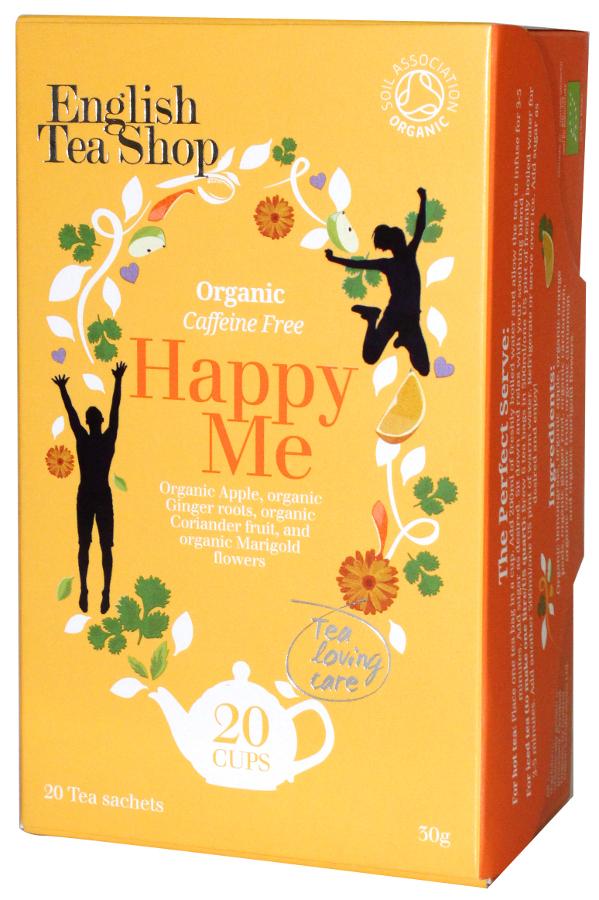 English Tea Shop Organic Happy Me Tea - 20 Bags - Sachets