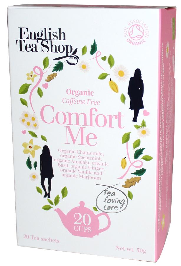 English Tea Shop Organic Comfort Me Tea - 20 Bags - Sachets