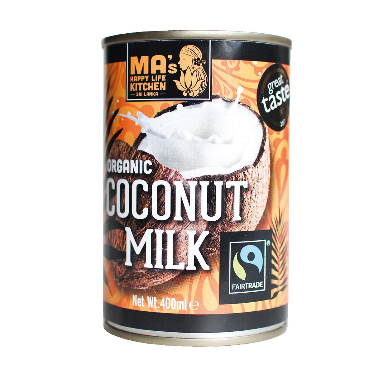 Fairtrade & Organic Coconut Milk - 400ml