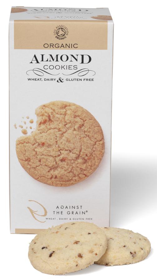 Against The Grain Organic Almond Cookies - 150g