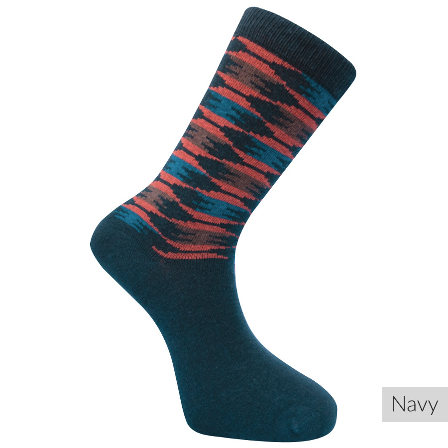 Our compression socks are composed of 65% Natural Combed Cotton and high-quality anti-allergic stretch material. This exclusive combination reduces the possibility of discomfort by over 90%, giving users complete peace of mind regarding skin reactions.