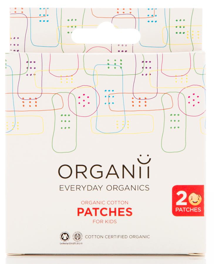 Organii Organic Cotton Patches - 20's Kids