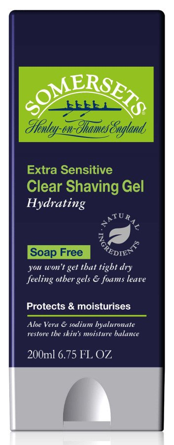 Somersets Extra Sensitive Hydrating Shave Gel - 200ml