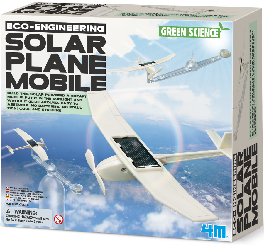 Green Science Solar Plane Mobile