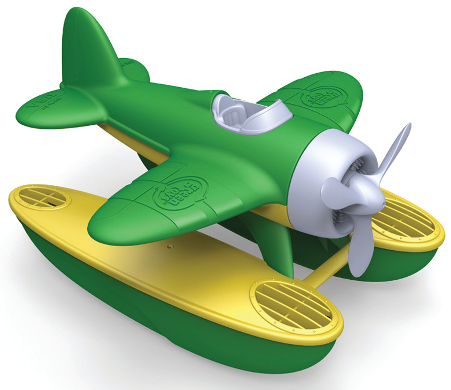Green Toys Recycled Seaplane with Green Wings