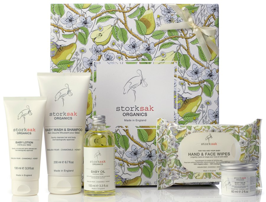 Stork Baby Gift Baskets Reviews : Storksak baby spa gift set organics