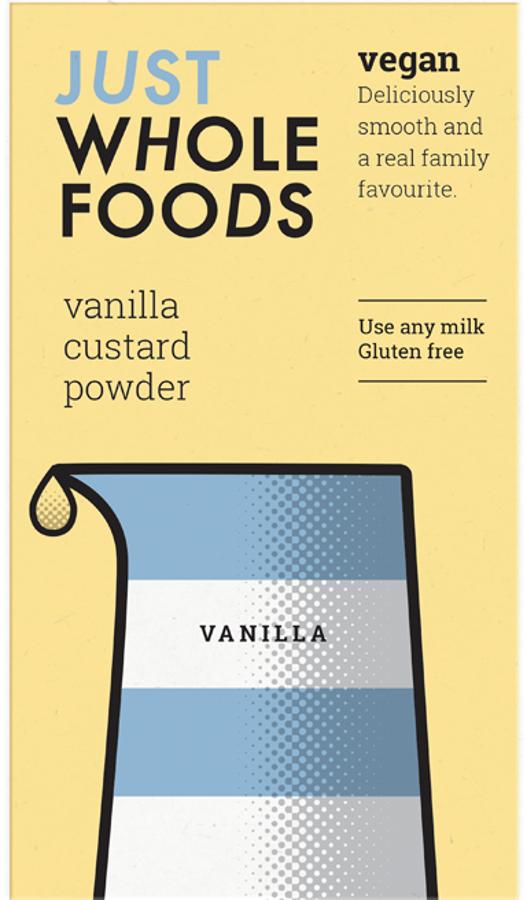 Just Wholefoods Custard Powder - 100g