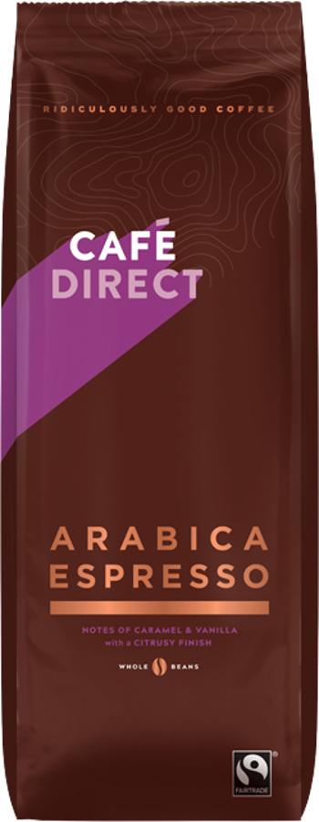 Cafedirect Arabica Espresso Whole Coffee Beans - 1kg