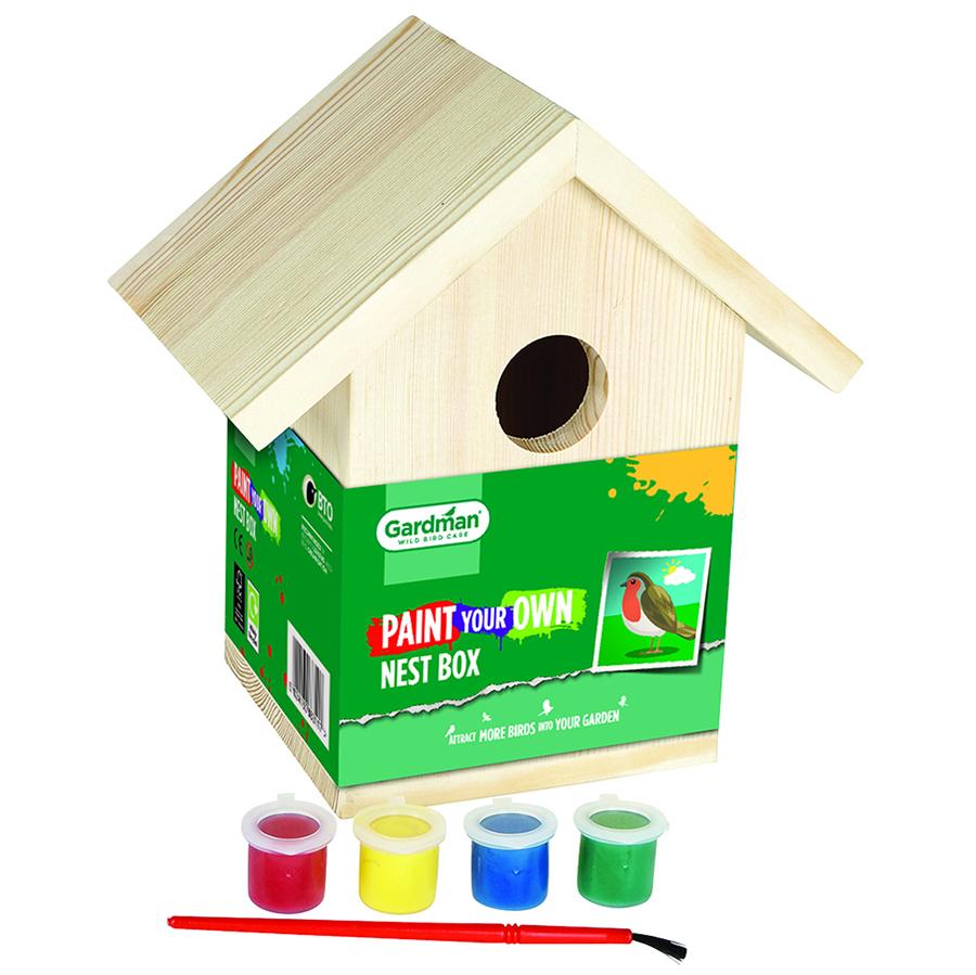 Paint Your Own Nest Box
