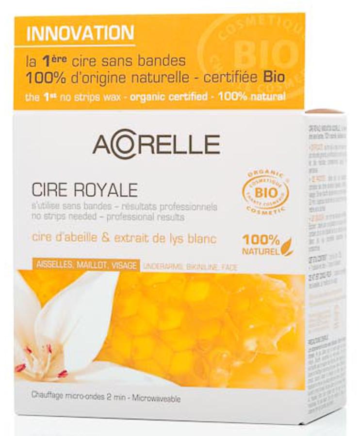 Acorelle Beeswax - Underarms Bikini Line & Face - Royal Wax - 100g