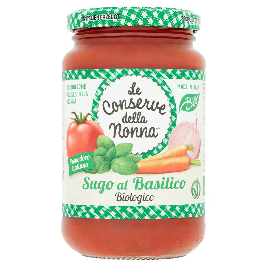 Le Conserve Della Nonna Organic Tomato & Basil Sauce - 350g