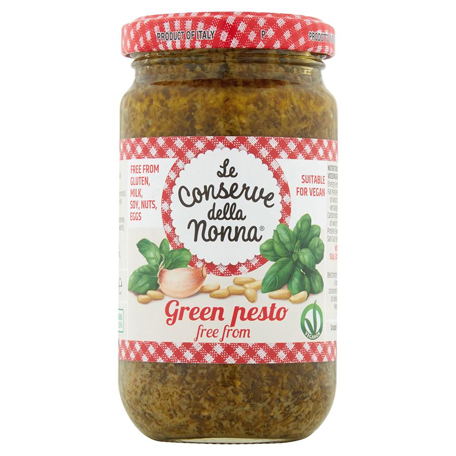 Le Conserve Della Nonna Vegan Green Pesto Sauce - 185g