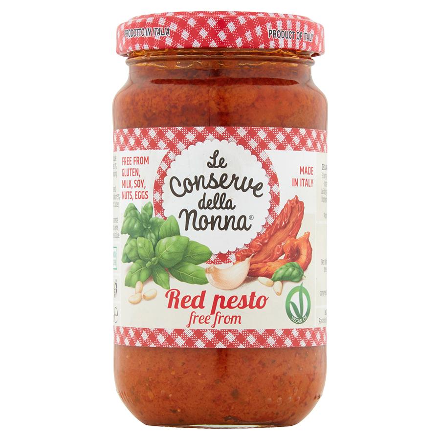 Le Conserve Della Nonna Vegan Red Pesto Sauce - 185g