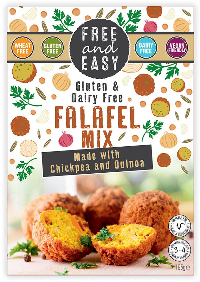Free & Easy Falafel Mix - 195g
