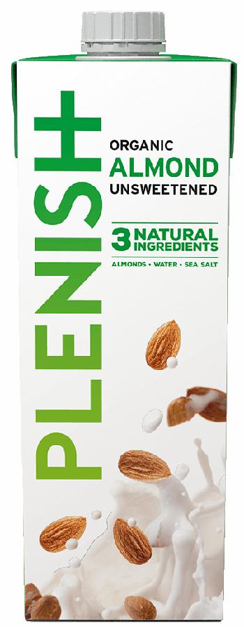 Plenish Organic Almond Milk - 1L