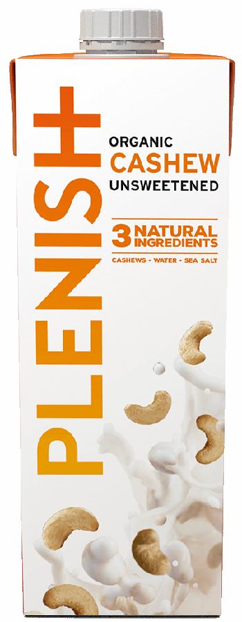 Plenish Organic Cashew Milk - 1L