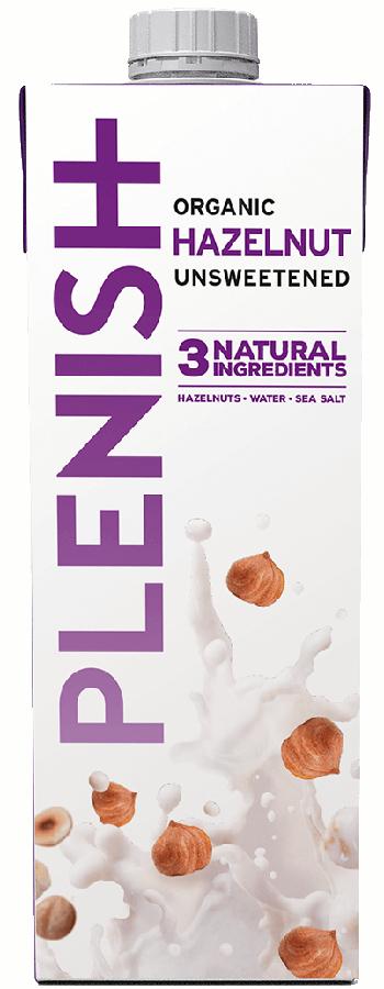 Plenish Organic Hazelnut Milk - 1L